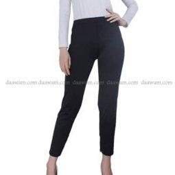 Legging Panjang Bahan Jersey Ukuran Besar Warna Hitam